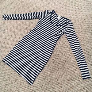 H&M striped & Stretchy dress